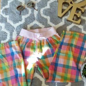 Girls Plaid PJ pants! ✨